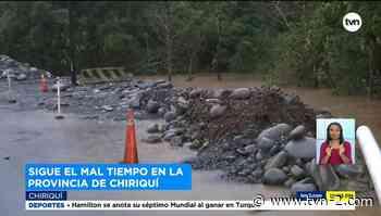 Familias son desalojadas en Gualaca por malas condiciones climáticas - TVN Noticias