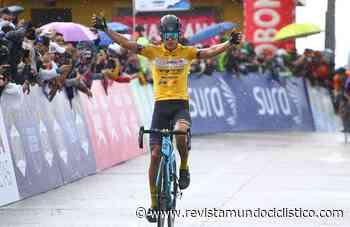 Nelson Soto triunfa bajo la lluvia en Guasca. Alexander Gil sigue líder de la Vuelta a Colombia - Revista Mundo Ciclistico