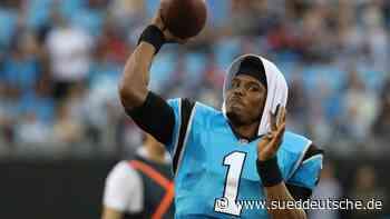 NFL: Cam Newton geht zu den New England Patriots - Süddeutsche Zeitung