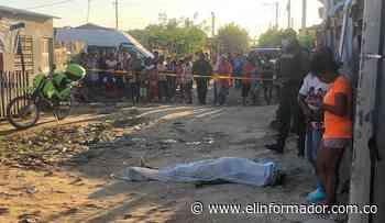 Matan a tiros un joven en Sitionuevo, Magdalena e hieren a su papá - El Informador - Santa Marta