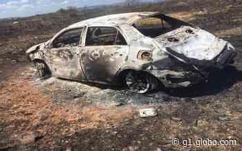 Homem morre após carro pegar fogo em Tobias Barreto - G1