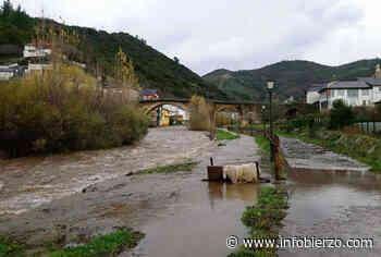 El Cúa se desborda en Cacabelos y el Burbia en Villafranca… hasta un 90% de incremento de caudal en ... - Infobierzo.com