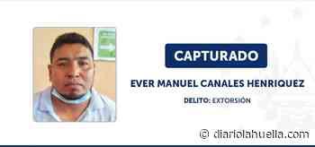 Capturan a extorsionista en entrega controlada en Suchitoto - Diario La Huella