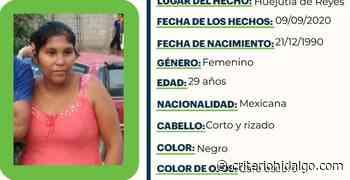 Se busca a Liliana Diego Hinojosa, extraviada en Huejutla de Reyes - Criterio Hidalgo