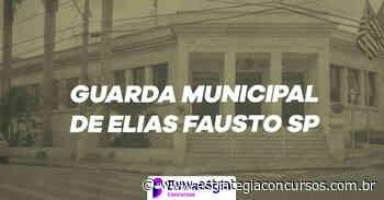 Concurso Guarda de Elias Fausto SP: provas suspensas! - Estratégia Concursos