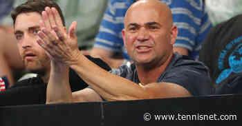 Andre Agassi schaut bei Sebastian Korda vorbei - tennisnet.com