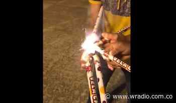 [VIDEO]: Influencer se burla de las autoridades jugando a las bota luces en Bucaramanga - W Radio