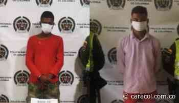 Capturados dos presuntos jibaros en Guamal - Caracol Radio