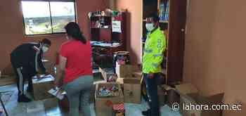 Autoridades decomisan juegos pirotécnicos en Pelileo - La Hora (Ecuador)