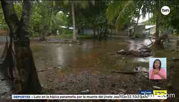 Evalúan traslado de residentes de Kosovo en Puerto Caimito afectados por mareas altas - TVN Panamá