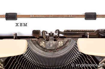 NEM (XEM): Kryptowährung bricht um 80 Prozent nach oben aus - Kryptoszene.de