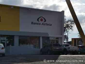 Asaltan Banco Azteca de Lomas del Boulevard en Culiacan, $700 el botín - Sinaloahoy