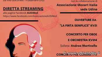 """""""Mozart è di casa"""", l'Orchestra Audimus fa rivivere le pagine di Mozart in streaming - UdineToday"""