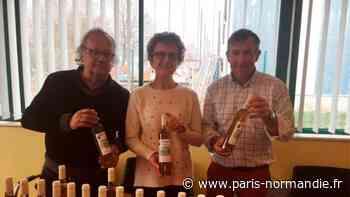 Les premières cuvées de vin du Mont-Fortin à Bois-Guillaume, près de Rouen, en vente aux enchères - Paris-Normandie