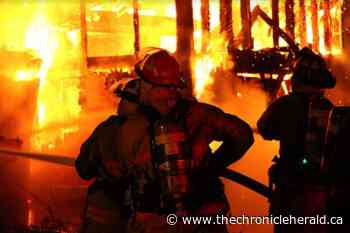 Firefighters protect Lawrencetown home from destructive barn blaze - TheChronicleHerald.ca