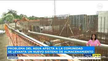 Continúan trabajos de ampliación de Planta Potabilizadora de Sabanitas en Colón - TVN Noticias