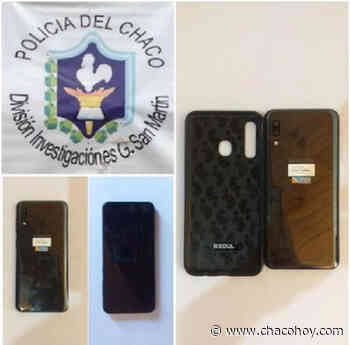 General San Martin, recuperaron un celular valuado en mas de 26.000 mil pesos - ChacoHoy