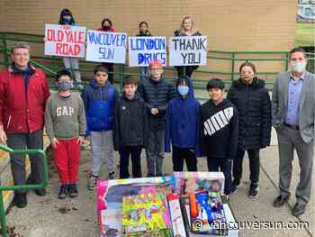 Adopt-A-School: London Drugs steps up to assist kids at inner city schools