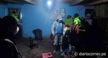 Pobladores son sorprendidos en reuniones sociales en Quiruvilca - Diario Correo
