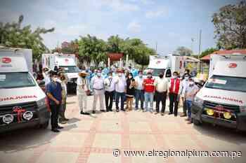 Gobierno Regional de Piura entregó ambulancias para establecimientos de salud de Morropón - El Regional