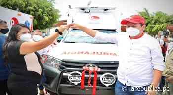 Piura: casi 53 000 habitantes de Morropón se benefician con entrega de ambulancias| LRND - LaRepública.pe