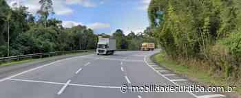 BR-116 tem interdição em Campina Grande do Sul após tombamento - Mobilidade Curitiba