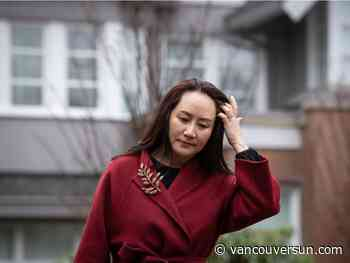 Court hears senior RCMP officer emailed FBI after Meng Wanzhou arrested in Vancouver