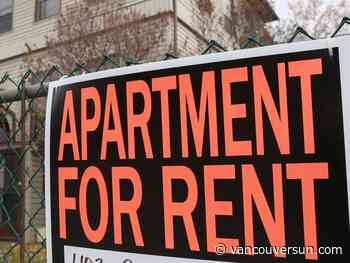 Canada's average monthly rent dipped 9.1 per cent in November: rent report