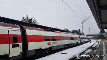 Hergatz: SBB-Zug wird in Deutschland auf Diesel-Gleis gelotst - BLICK