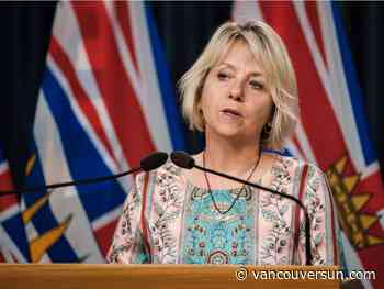 COVID-19: Dr. Bonnie Henry says B.C. vaccinations will begin Tuesday