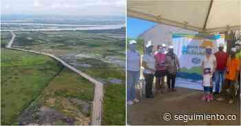Finalizan las obras en el caño El Burro en Sitionuevo - Seguimiento.co
