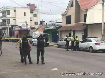Periodista halla explosivos en el balcón de su casa, en Machala; policía investiga un intento de atentado contra la vida del comunicador y su familia - El Universo
