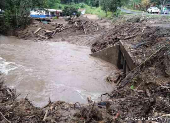 ¡Alerta! Se desborda el río Guisado en Río Sereno - Crítica Panamá