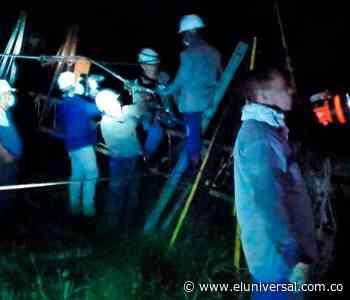 Afinia restablece el servicio de energía en Arjona, Mahates y Marialabaja - El Universal - Colombia