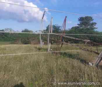 Robo de estructuras dejan sin energía a Arjona, Mahates y Marialabaja - El Universal - Colombia