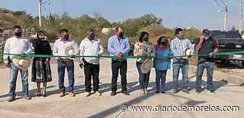 Inauguran obras en Tepalcingo - Diario de Morelos
