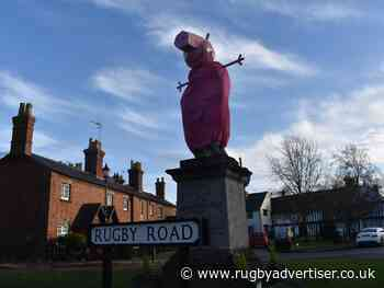 Dunchurch pranksters continue tradition of giving Lord Scott a Christmas makeover - Rugby Advertiser