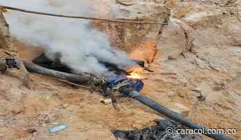 Policía intervino dos minas ilegales en zona rural de Planeta Rica, Córdoba - Caracol Radio