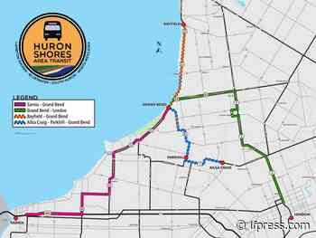 Lambton Shores launches Grand Bend, London, Sarnia bus links Monday - London Free Press (Blogs)