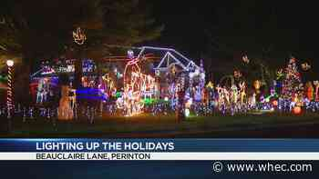 Lighting up the Holidays: Polisseni family on Beauclaire Lane