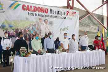 A un Pacto por la Vida convocó el gobernador en Caldono - Proclama del Cauca