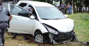 Ladrão rouba carro em Espirito Santo do Pinhal e acaba caindo em córrego em Mogi Guaçu - O Regional