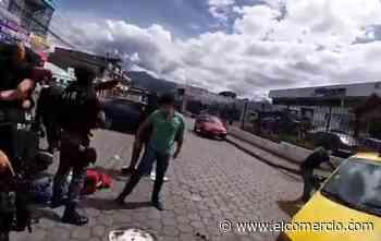 Agentes especiales capturan a sospechosos de asaltos y robos en Machachi - El Comercio (Ecuador)