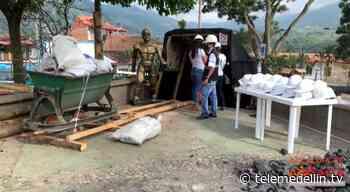 En el parque principal de Amagá habilitan mina temática - Telemedellín