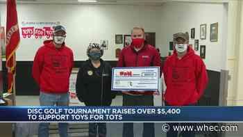 Disc golf tournament raises money for Toys for Tots