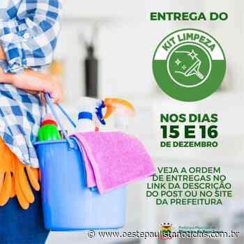 Pirapora do Bom Jesus realiza a entrega do Kit Limpeza aos alunos do ensino municipal - Portal Oeste Paulista