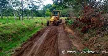 A Nunchía llegó maquinaria para recuperar vías afectadas por la lluvia - Noticias de casanare - La Voz De Yopal