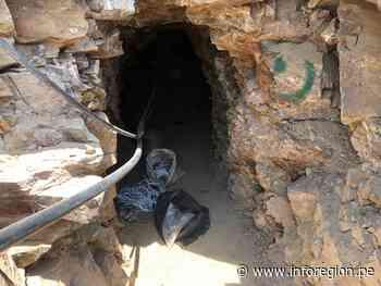Ica: Destruyen bocamina y equipos de mineros ilegales en Palpa - INFOREGION