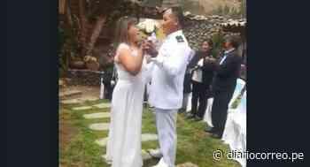 Marino celebra boda con palpa y cantante da conciertos con licor en Huancayo (VIDEO) - Diario Correo