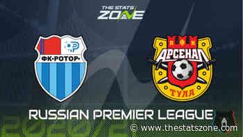 Russian Premier League 2020-21 - Rotor Volgograd vs Arsenal Tula Preview and Prediction - The Stats Zone